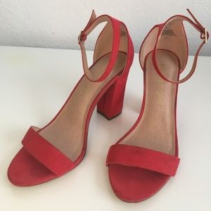 AUTHENTIC Steve Madden Red Heels